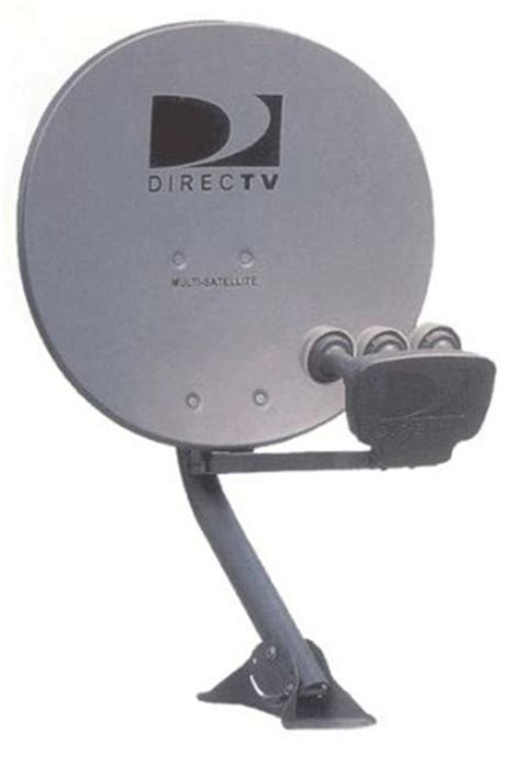 directv dishes solid signal