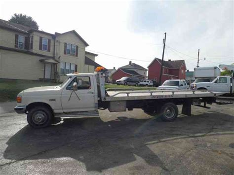 tow truck bed ford f 450 1988 flatbeds rollbacks