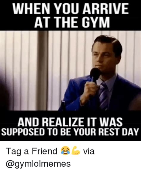 Gym Rest Day Meme - rest day meme 94820 vizualize