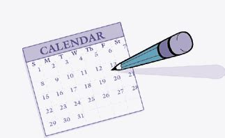Calendar Gif Fechas Y Horarios Pruebas De Septiembre 2016 C E O