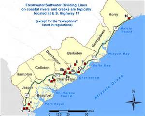 scdnr freshwater saltwater dividing line