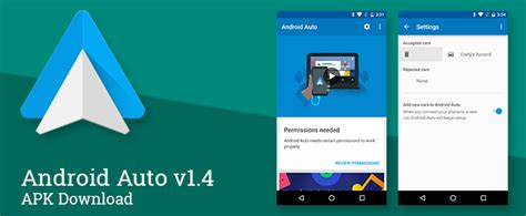 Android Auto App by Android Auto V1 4 Cleans Up The Companion App Interface