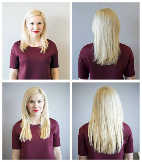 hair extensions before and after thin hair hot girls extensions blo out bar oklahoma city