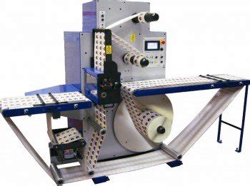 table top label rewinder rotary die cutting inspection slitter rewinders daco