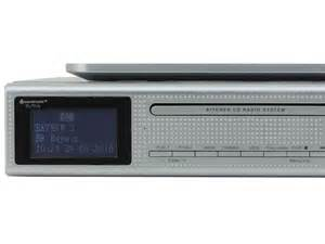 kitchen cd player under cabinet soundmaster eliteline ur2195si under cabinet bluetooth cd