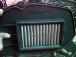 Ferrox Air Filter Vario 125 akhirnya memasang filter ferrox di vario 125 ndesoedisi