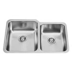 stainless steel undermount kitchen sink vigo double bowl undermount stainless steel kitchen sink vg3221l at discountbathroomvanities com