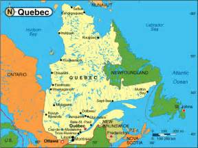 Quebec Canada Map by Quebec French And Metropolitan French Sam Gendreau The