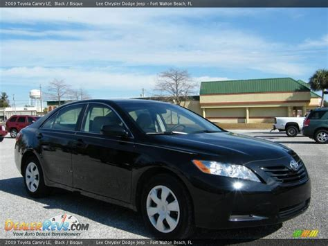 Black Toyota Camry 2009 2009 Toyota Camry Le Black Bisque Photo 7 Dealerrevs