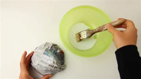 How To Make Paper Mache Stronger - 3 ways to make papier m 226 ch 233 paste wikihow