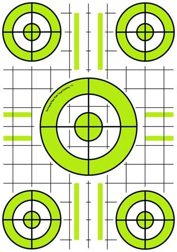 printable grid shooting targets 263 best targets printable images on pinterest