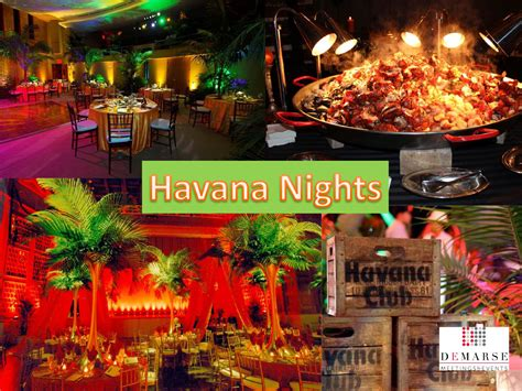 havana themed events havana nights party archives demarse meetings events