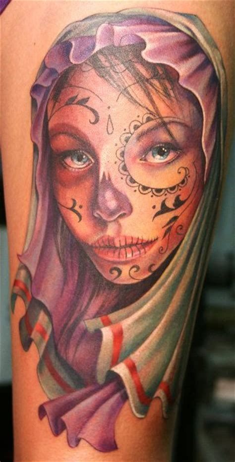 tattoo nightmares day of the dead sadohydroe day of dead girl tattoo pictures