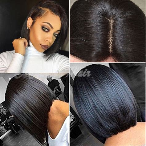 human hair wigs with scalp part down middle curly short bob women lace frontal wigs 100 brazilian human