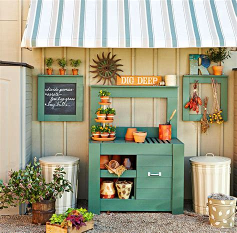 potting bench ideas pretty potting tables for spring sprucing your home
