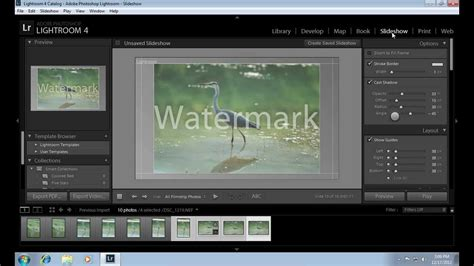membuat watermark di photoshop lightroom how to delete lightroom watermark youtube