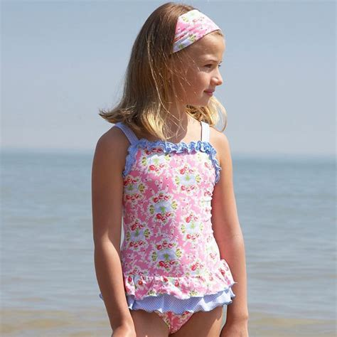 Pu08 Soft Pink Box Exclusive exclusive range pink and blue floral swimsuit