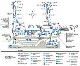 San Diego Airport Map by Airport Terminal Map San Diego Airport Terminal 2 Jpg
