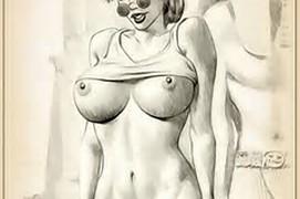 Lara Croft Nude Drawing