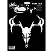 Deer Skull Car Sticker  Decal Familystickerscom