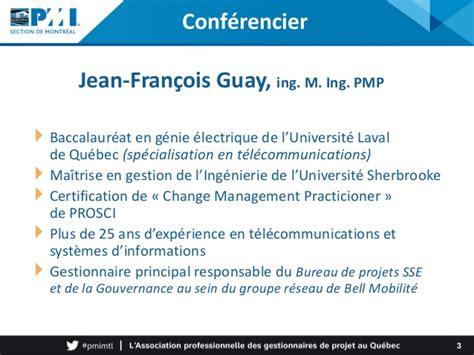 Mba Gestion Internationale Universite Laval by Introduction De La Gestion De Projet Agile Au Sein De L