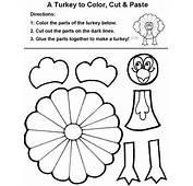 Fichas De Ingl&233s Para Ni&241os Thanksgiving Craft