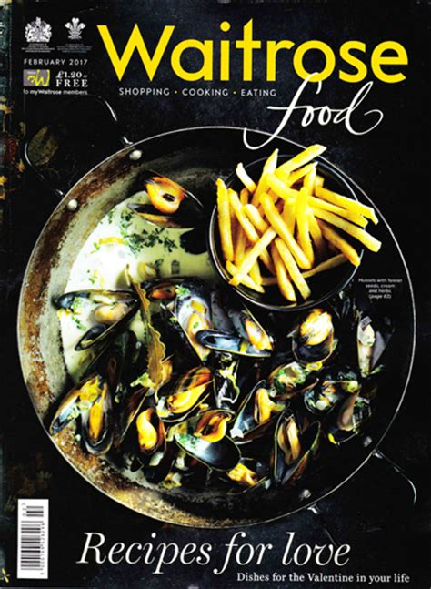 waitrose food waitrose food magazine february 2017 eat your books