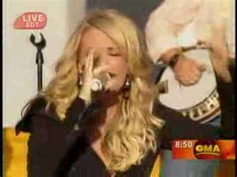 flat on the floor carrie underwood carrie underwood flat on the floor good morning america