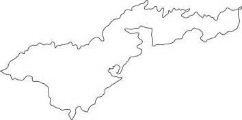 fiji outline map