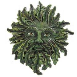Home Interior Figurines greenman wall plaque spring green 7149 puckator ltd