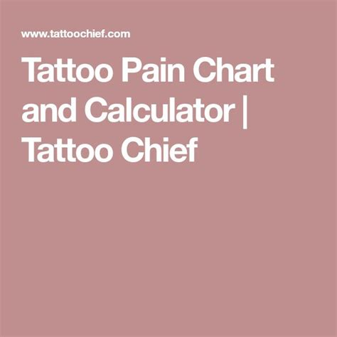 tattoo pain comparison best 25 chart ideas on forearm