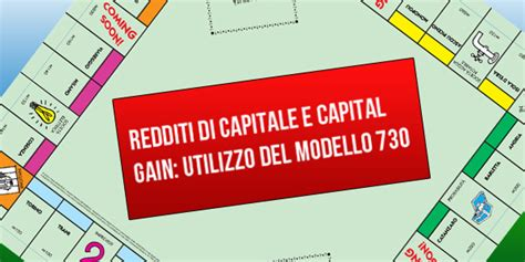 tassazione redditi diversi redditi di capitale rendite finanziarie e capital gain