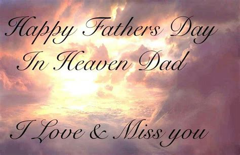 happy fathers day heavenly happy fathers day in heaven postcards