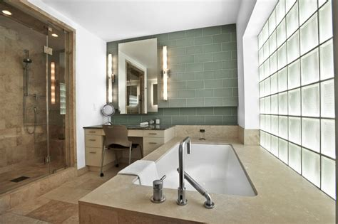 Vertical Bathroom Vanity Lights Vertical Vanity Lights Contemporary Bathroom Houston By Light