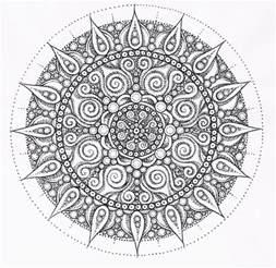 Pentagram Rug Mandalas Para Colorear Dificiles
