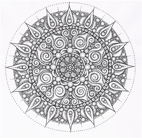 Free Coloring Pages Of Intricate Elephant Mandala Colorear
