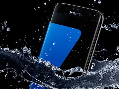 samsung galaxy s7 it s water resistant but if it springs a leak you re on your own zdnet