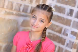 hair styles for 9 year with wavy hair pull through braid easy hairstyles cute girls hairstyles