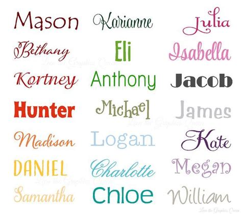 strange color names name wall decal small wall door decal for nursery bedroom