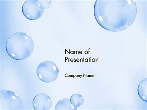 powerpoint templates free bubbles water bubbles powerpoint template backgrounds 14231
