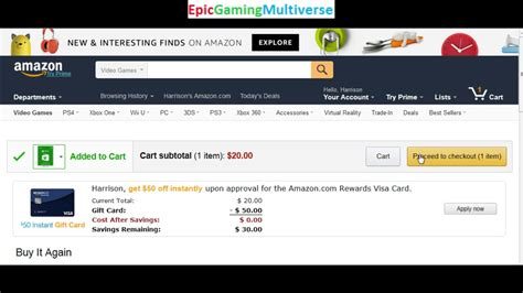 tutorial carding amazon tutorial for how to purchase an xbox live gift card code