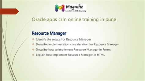 oracle tutorial in mumbai oracle crm on demand administration essentials oracle crm
