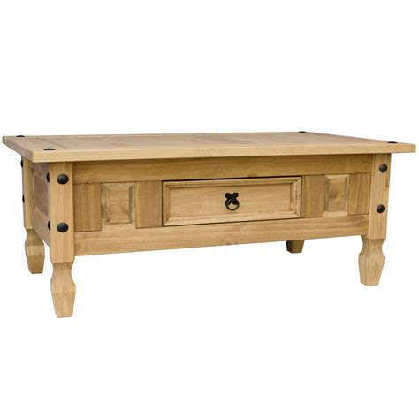 Corona Pine Coffee Table Corona Solid Pine Mexican Living Room Furniture Coffee Table By Home Discount Ebay