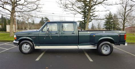 old car manuals online 1995 ford f350 windshield wipe control 1994 ford f350 crew cab dually 7 3l power stroke turbo diesel 5spd low miles for sale in