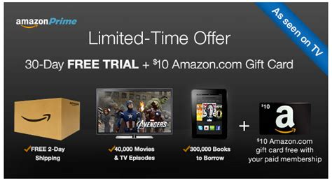 Renew Amazon Prime With Gift Card - free trial amazon prime myideasbedroom com
