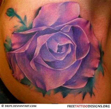 purple rose shoulder tattoo best 25 purple tattoos ideas on purple