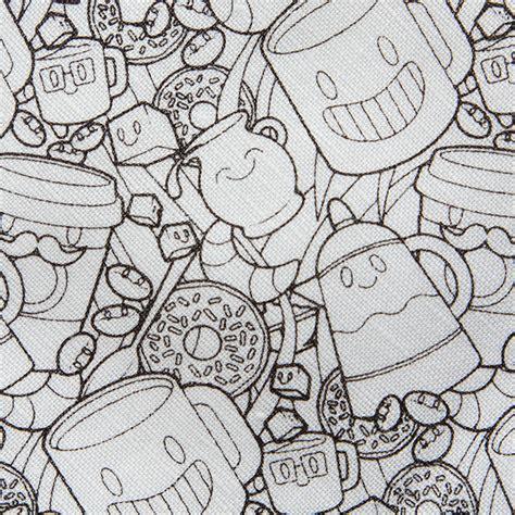 diy coloring book coffee donuts diy coloring book tie