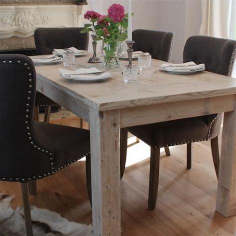 Scandinavian furniture reclaimed wood dining table modish living