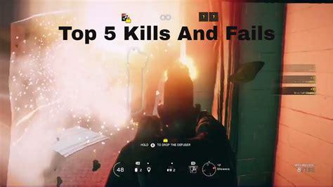 ricochet kills 5 ricochet kills 4 tom clancy s rainbow six siege cool kills and funny fails
