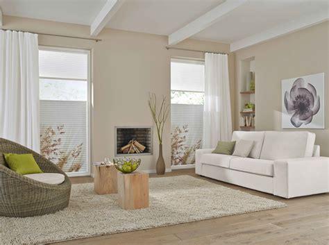 Plissee Wohnzimmer by Sicht Und Sonnenschutz